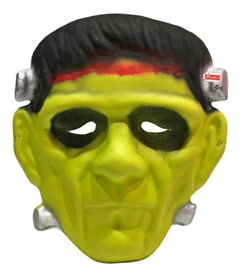 Máscara Frankestein Disfraz Halloween - Ciudad Cotillón