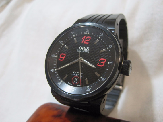 Oris F1 Willians, Automático, Black, 40mm, Excelente Estado