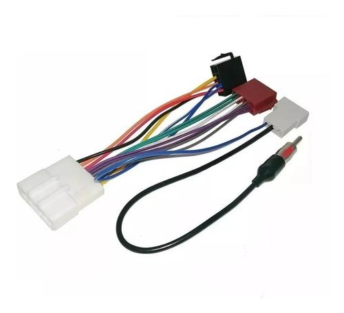 Plug Chicote De Ligação Nissan + Adaptador De Antena