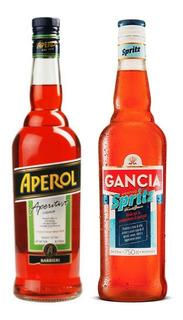 Aperitivo Aperol + Gancia Spritz