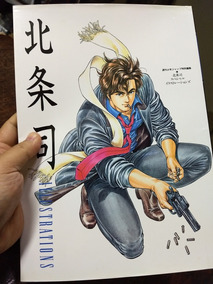 Art Book Illustration City Hunter Anime Hentai Mangá