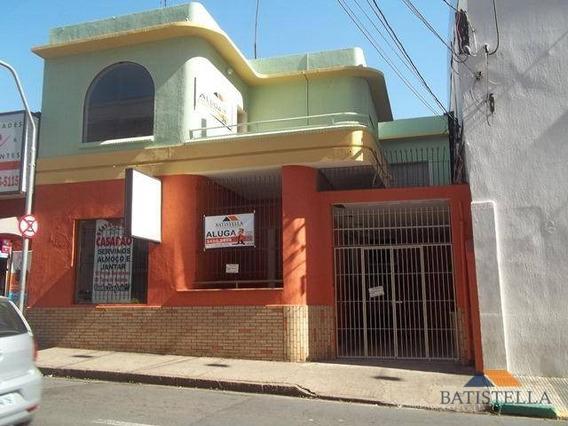 Casa Comercial Para Locação, Centro, Limeira. - Ca0160