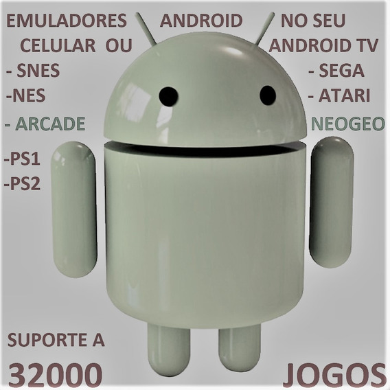 Emuladores Android Box Tv Ps1 Ps2 Snes Atari Nes Via Email