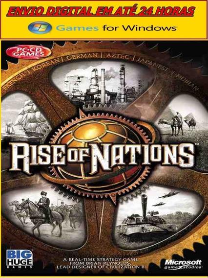 Rise Of Nations Pc Digital Envio Grátis