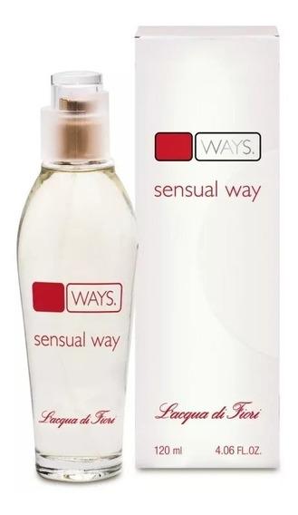 Perfume Feminino Sensual Way Deo-colônia 120ml Lacqua Fiori