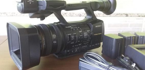 Câmera Filmadora Sony Hxr Nx3 Profissional