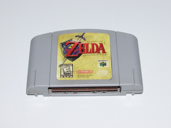Zelda Ocarina Of Time Original Nintendo 64