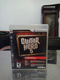 Juego Guitar Hero 5 Para Playstation 3