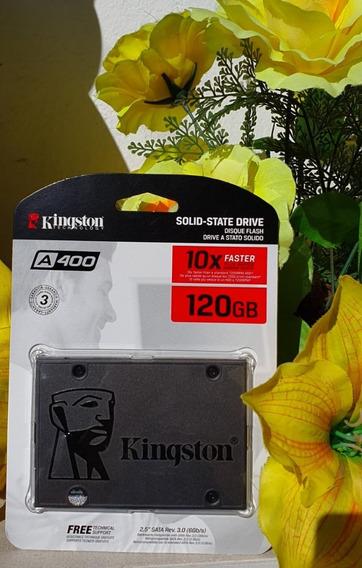 Hd Ssd 120 Gb Kingston 10x Faster Plus