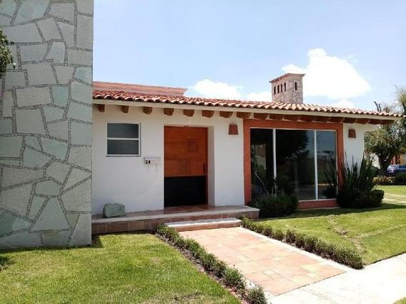 Casa En Renta De Una Planta En Fracc.la Asuncion Metepec, Mex.