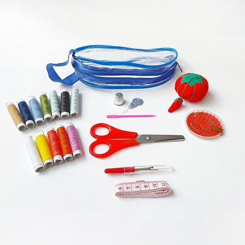 Imagen 1 de 2 de Costurero Para Viajes De Plástico Kit De Costura Práctico