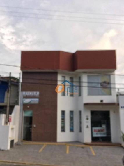 Salão Para Alugar, 250 M² Por R$ 7.000/mês - Cidade Satélite - Atibaia/sp - Sl0015