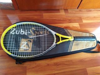 Raqueta De Tenis En Aluminio De Un Cuerpo, Zubi-sports