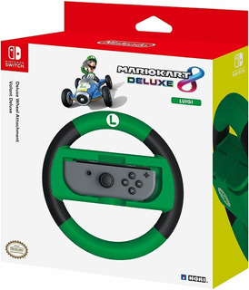 Volante Mario Kart 8 Deluxe Luigi Nintendo Switch Original