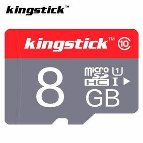 Cartão De Memória 8gb Micro Sd + Adaptador Sd (kingstick)