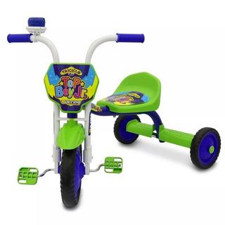 Triciclo 3 Rodas Bicicleta Infantil Menino Ultra Bike Verde