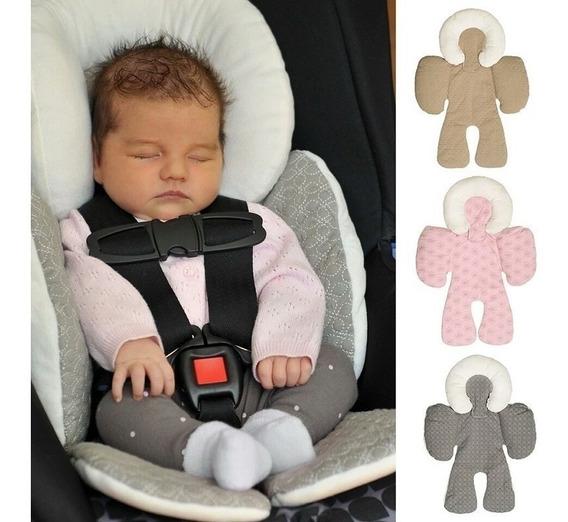 Apoio De Corpo Reversível - Protetor Para Bebê Conforto
