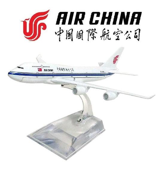 Aviao Comercial Metal Diecast Air China