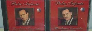 2 Discos Pedro Infante Rancheras Inmortales A Solo$50 Pesos!