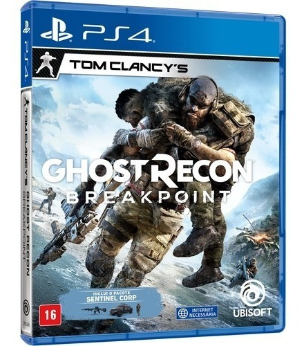 Jogo Ghost Recon: Breakpoint Ps4 Playstation 4 Mídia Física