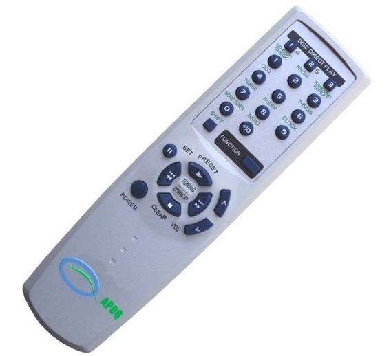 Controle Remoto Som Aiwa Rc-zas02 Nsx-t96 T99 Xh-a 1000 1060