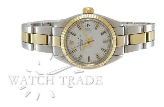 Relógio Rolex Lady Date 26mm Aço E Ouro Ref.: 6917