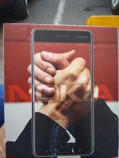 Nokia 6 Nuevo Con Todos Sus Accesorios Completos