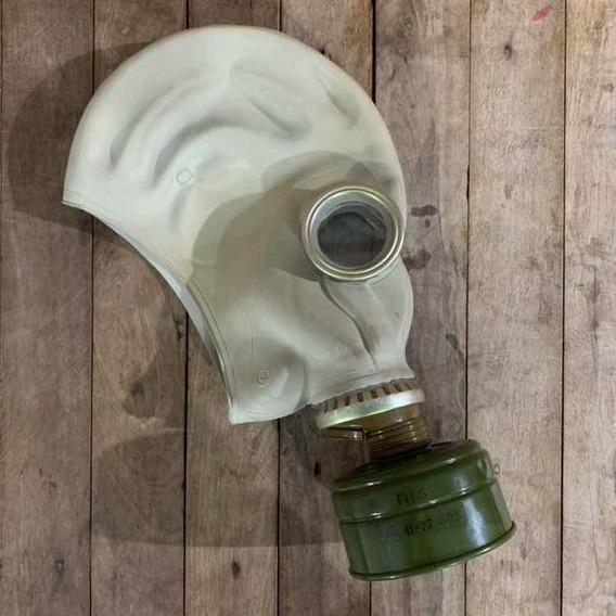 Mascara De Gas Antiga Exército União Soviética