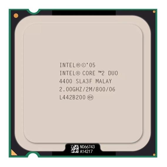 Processador Intel® Core2 Duo E4400 Funcionando