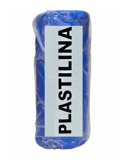 Massa De Modelar Clay Plastilina Azul Turquesa Caixa 500 G