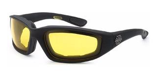 Óculos Motociclista Espuma Choppers Acolchoado Original