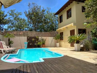Casa Em Rio Tavares, Florianópolis/sc De 236m² 3 Quartos À Venda Por R$ 750.000,00 - Ca181989