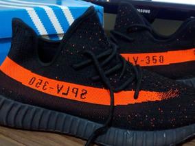 Tenis adidas Yeezy Boost 350 Original V2 Orange Promoção 40%