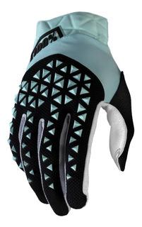 Luva 100% Airmatic 2020 Azul / Preto Ciclismo Moto Mtb
