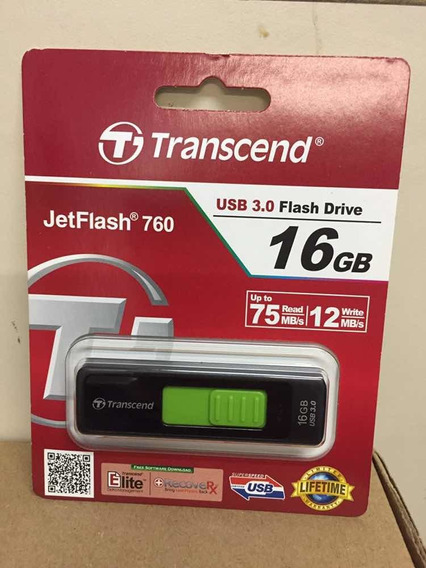 Pendrive 16gb Transcend Jetflash Usb 3.0