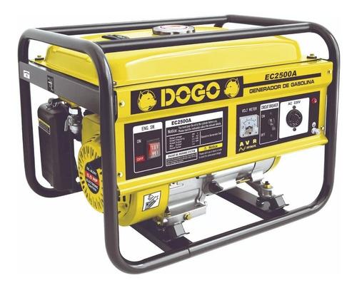 Generador Portátil Dogo Ec2500a 2300w Monofásico Con Tecnología Avr 220v