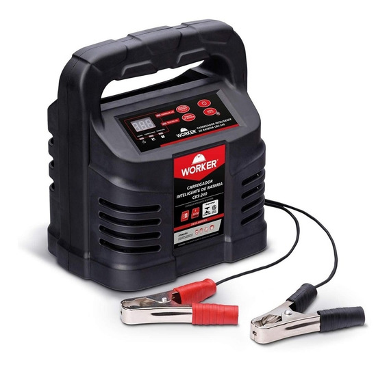 Carregador De Baterias 12v Inteligente 220v Worker - Cbs240