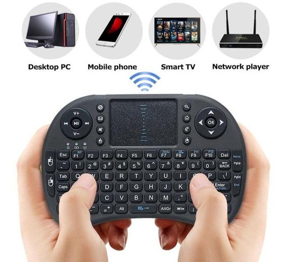 Mini Teclado Touch Wireless Para Tv Smart Tv Box Pc Notebook