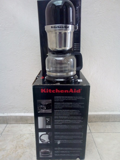 Cafetera De Infusor 8 Tazas Kcm0802ob Kitchenaid Negra