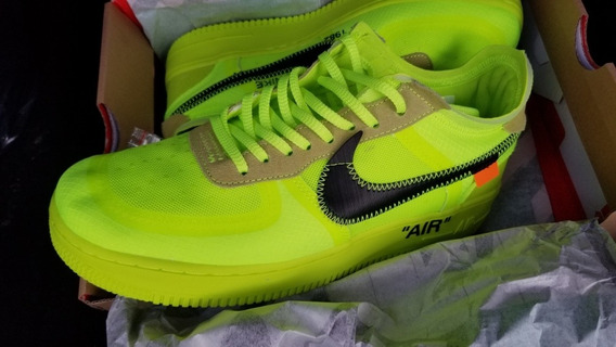 Nike Air Force One Off-white Volt