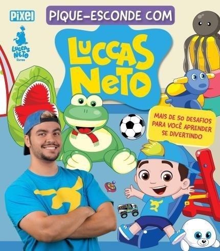 Livro Pique-esconde Com Luccas Neto 50 Desafios Pra Aprender