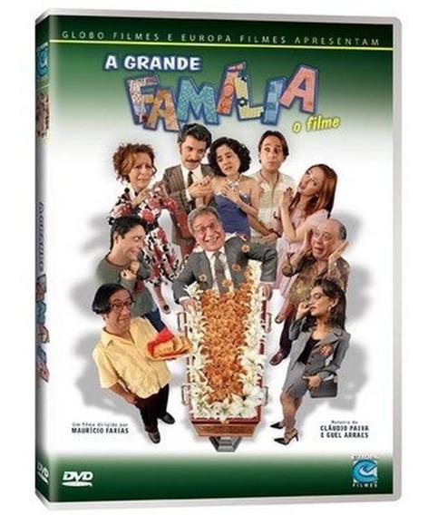 Dvd Duplo - A Grande Família: O Filme