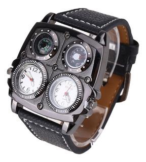 Reloj Militar Oulm Deportivo Para Hombre