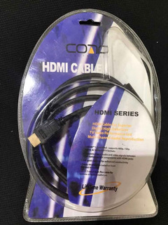 Cable Hdmi 1.3 Negro Full Hd