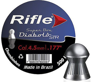 Kit 5 Chumbinhos 4,5 Rifle Ammunition Diabolô 1250 Unid.