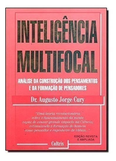Livro Inteligencia Multifocal - Livro Augusto Jorge Cury