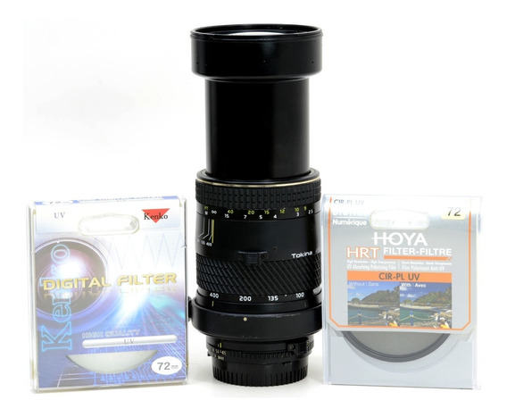 Objetiva Super Zoom Para Nikon 80-400mm
