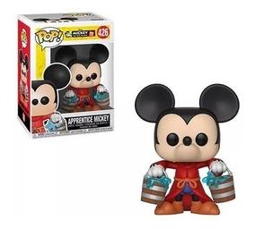 Promoção Funko Pop Disney Mickey 90 Th Apprentice Mickey