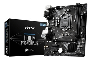 Mother Msi H310m Pro Lga 1151 Intel 8va Ddr4 Hdmi Usb 3.1