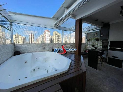 Imagem 1 de 27 de Cobertura Com 2 Dormitórios À Venda, 100 M² Por R$ 970.000 - Tatuapé - São Paulo/sp - Co0137